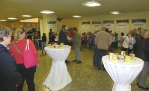 Eröffnung der Ausstellung in Plauen