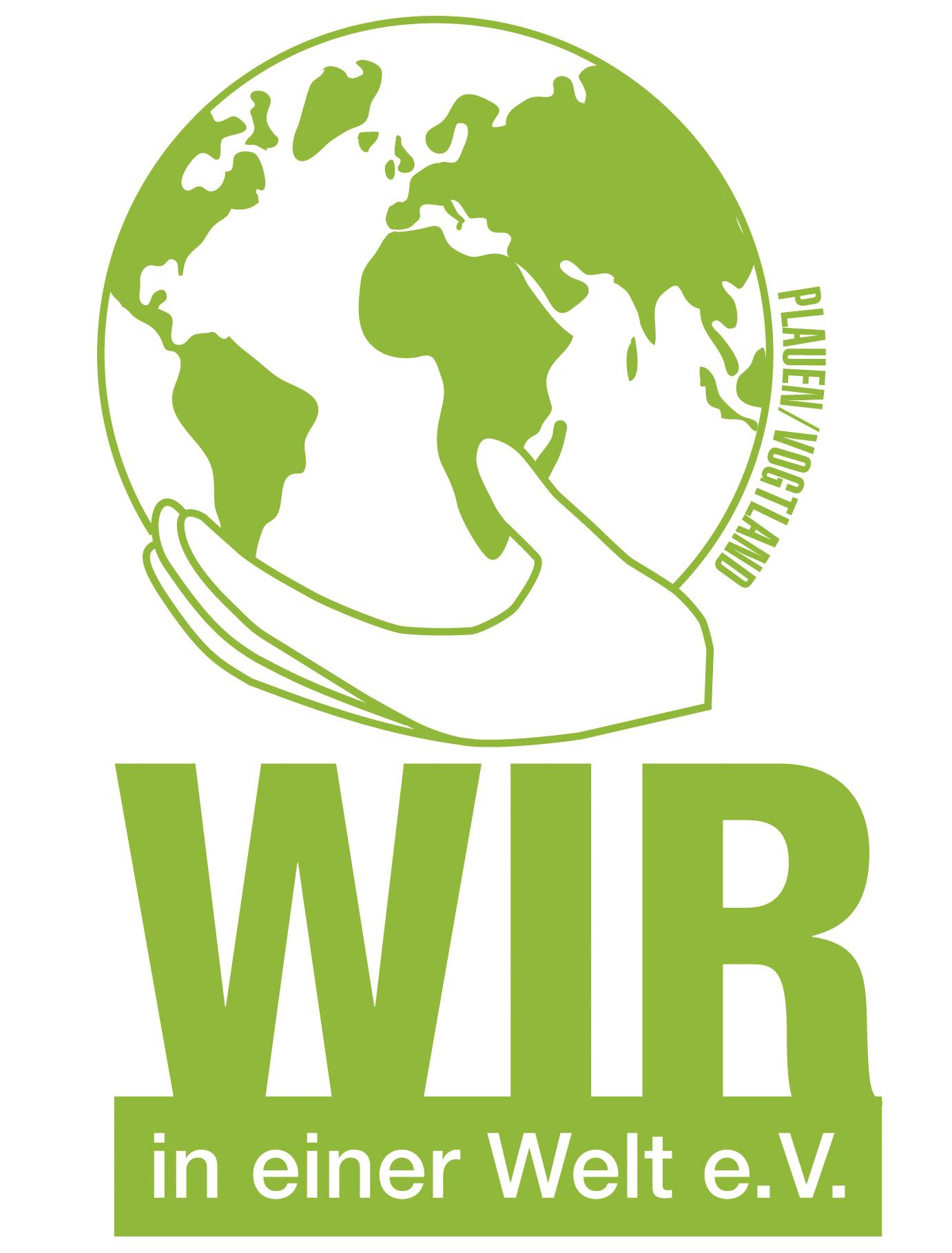 Logo Verein WIR-in einer Welt-Plauen/Vogtland e.V.